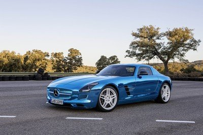 2013 Mercedes SLS AMG Coupe Electric Drive - image 475366