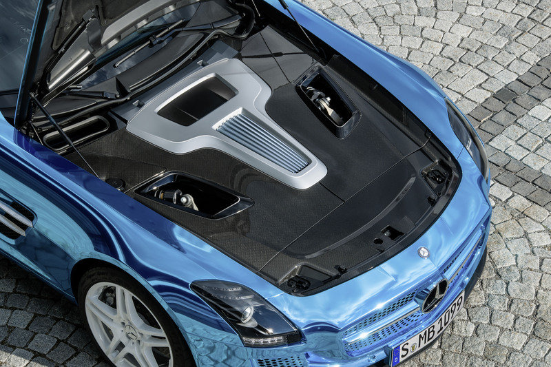 2013 Mercedes SLS AMG Coupe Electric Drive High Resolution Drivetrain - image 475389