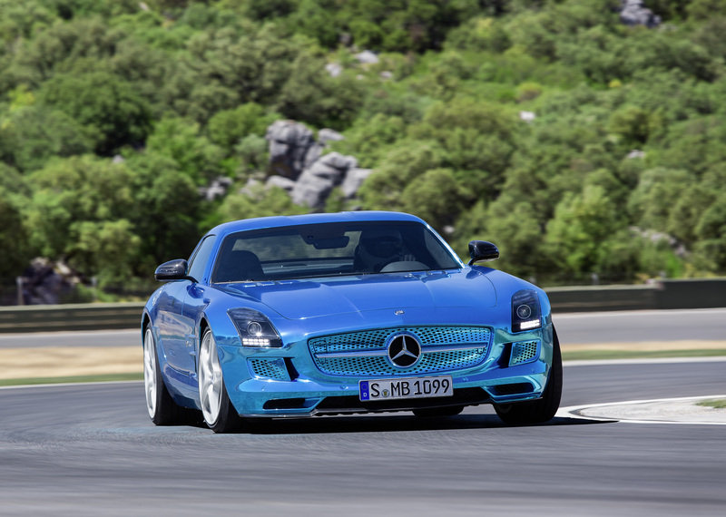 2013 Mercedes SLS AMG Coupe Electric Drive High Resolution Exterior - image 475355