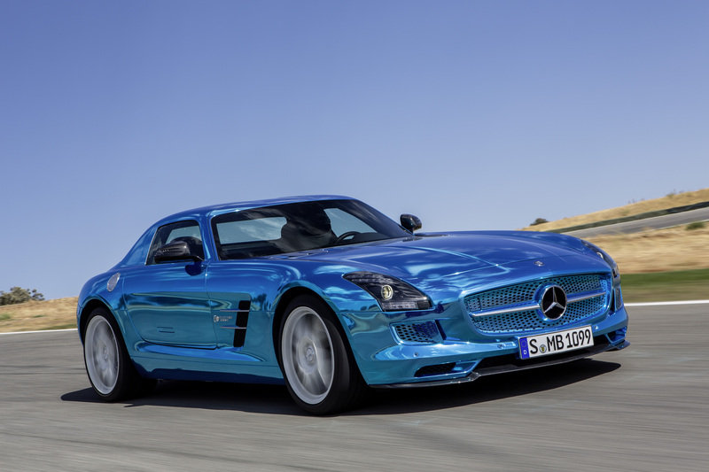 2013 Mercedes SLS AMG Coupe Electric Drive