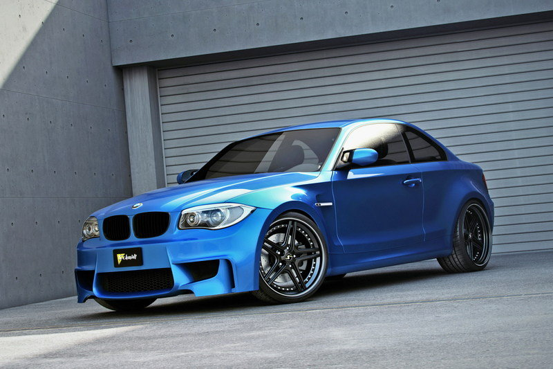 2012 BMW 1-Series M Coupe by Best Cars and Bikes