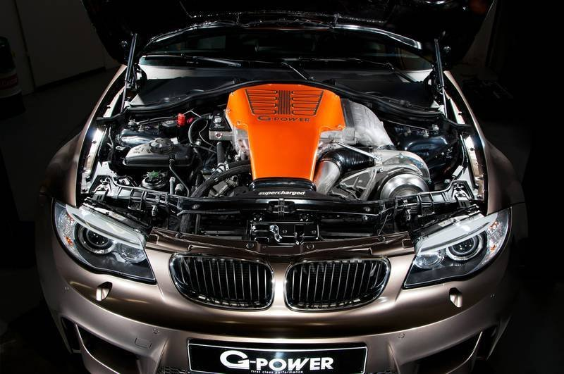 2013 BMW 1M G1 V8 Hurricane RS by G-Power Drivetrain - image 474829