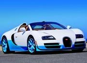 Bugatti Veyron 16.4 Grand Sport Vitesse Bianco and New Light Blue