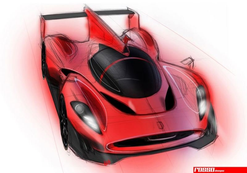 2014 Ferrari LMP1 Race Car