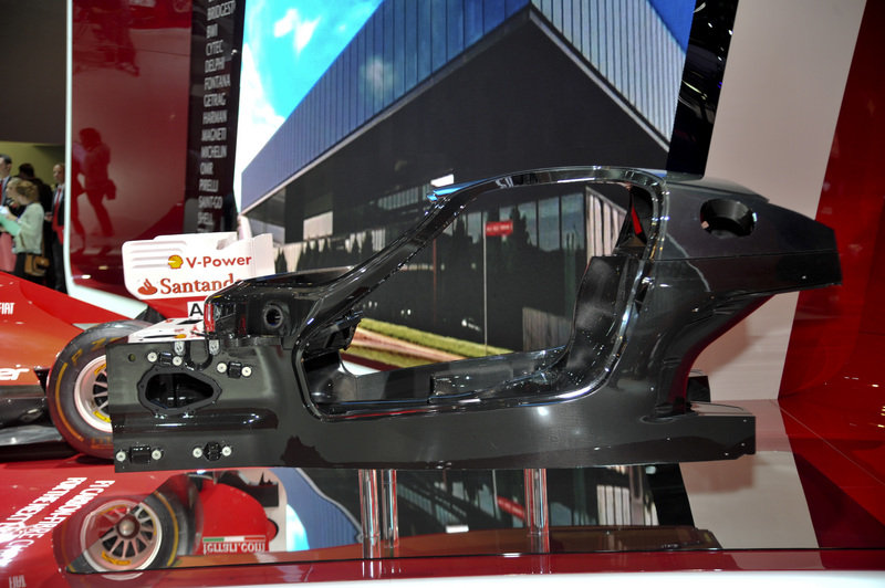 Ferrari Releases a new Composite Chassis for Upcoming Hybrid Model in Paris