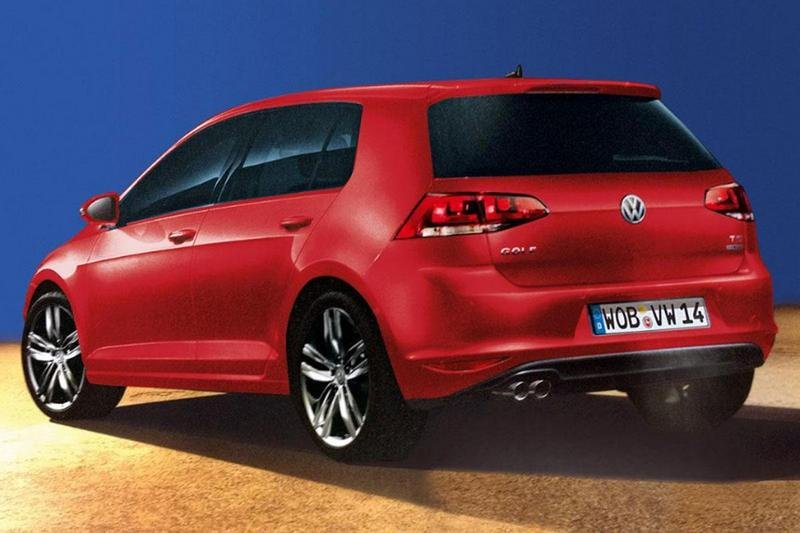 First images of the Volkswagen Golf VII leaked on the internet