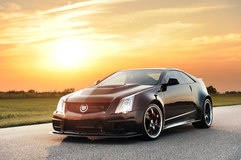 2013 Cadillac CTS-VR1200 Twin Turbo Coupe by Hennessey