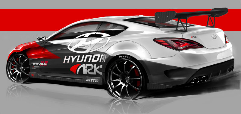 2013 Hyundai Genesis Coupe R-Spec by ARK High Resolution Exterior - image 474721