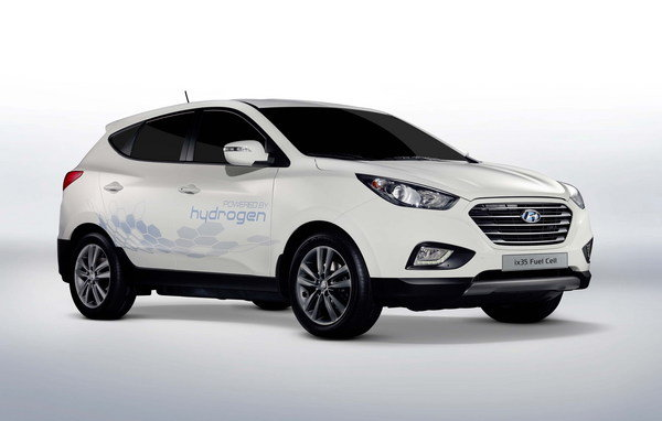 hyundai ix35 fuel cell vehicle picture