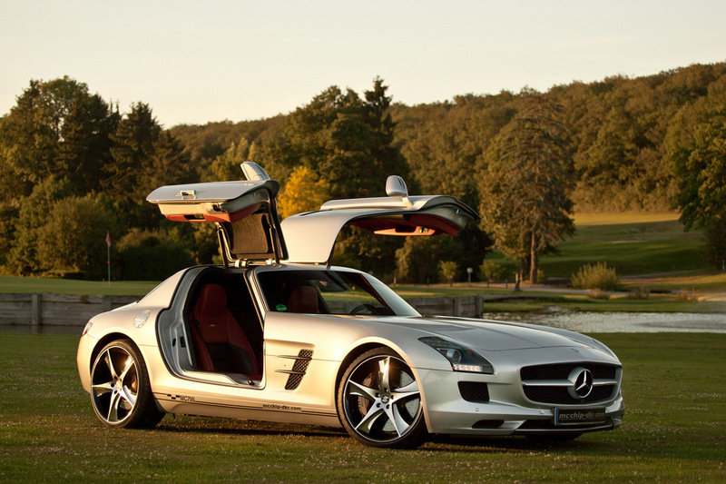"2012 Mercedes-Benz SLS 63 AMG ""MC700"" by mcchip-dkr High Resolution Exterior - image 471336"