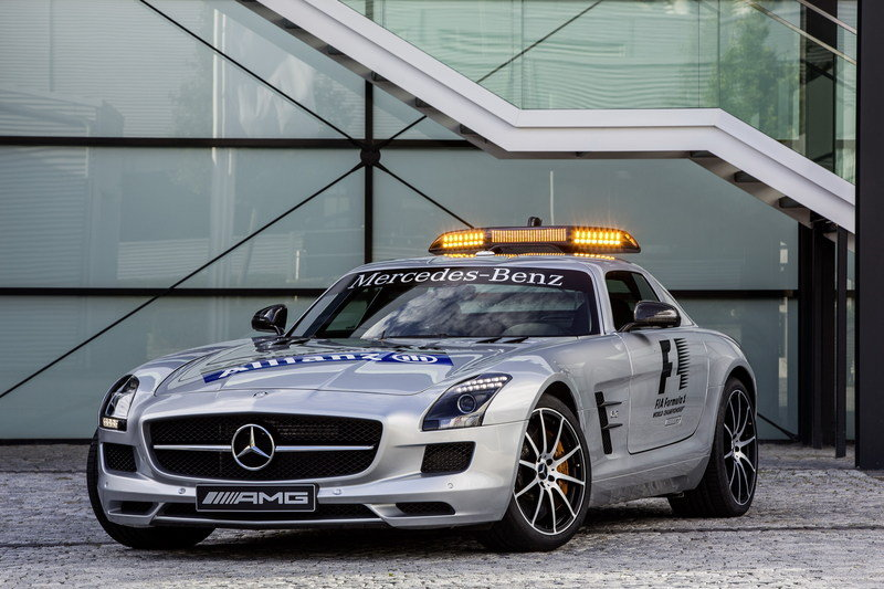 2013 Mercedes Benz SLS AMG GT F1 Safety Car