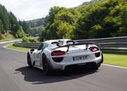 Porsche 918 Spyder Hits 7:14 Lap Time at the Nurburgring - image 474163