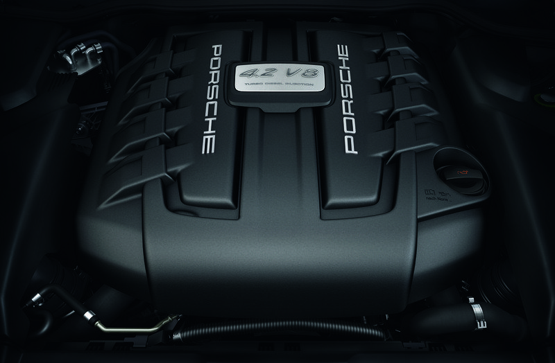 2013 Porsche Cayenne Diesel S High Resolution Drivetrain - image 472892