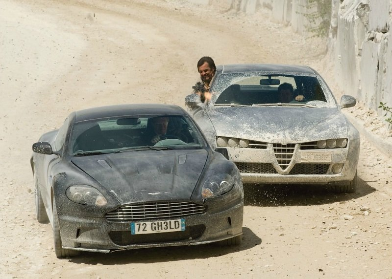 "Celebrity Auction Block: 2008 Aston Martin DBS ""Quantum of Solace"""