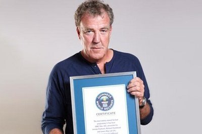 Top Gear Gets the Guinness World Record for Most Watched Factual Show