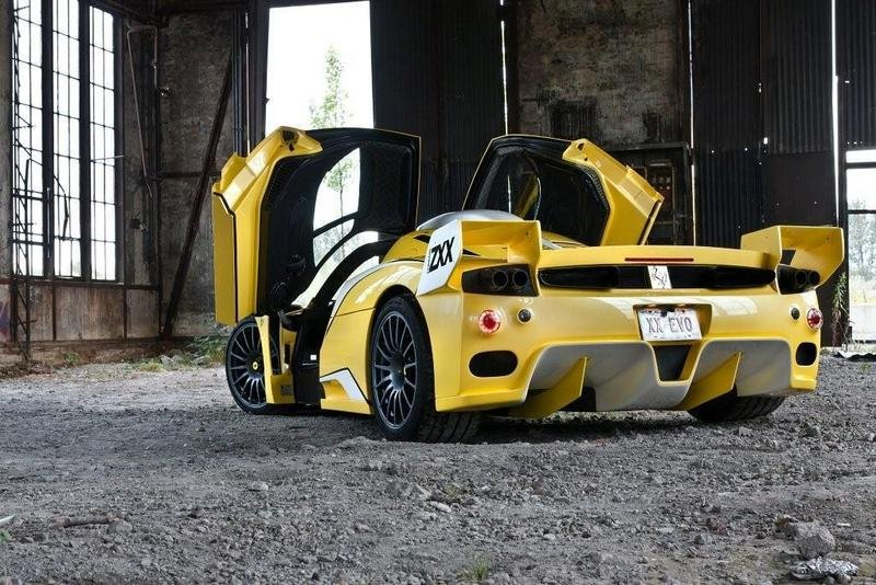 2008 Ferrari Enzo ZXX by Edo Competition and ZR Exotics  wallpaper image