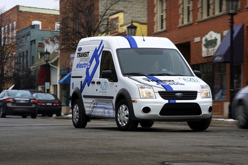 2010 - 2012 Ford Transit Connect Electric