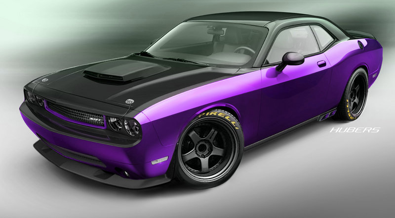 2012 Dodge Challenger SRT Project Ultraviolet by Jeff Dunham