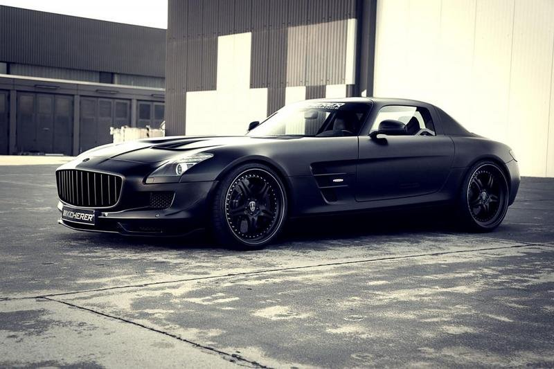 2012 Mercedes SLS AMG Supercharged GT by Kicherer