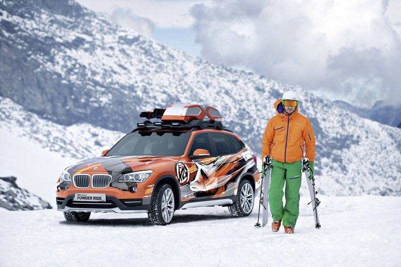2013 BMW X1 Powder Ride and Concept K2 Special Editions