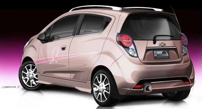 "2013 Chevrolet Spark ""Pink Out"" Cancer Awareness Concept"