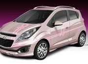 "2013 Chevrolet Spark ""Pink Out"" Cancer Awareness Concept - image 478746"