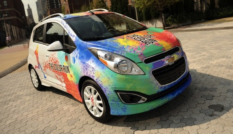 "2013 Chevrolet Spark ""The Color Run"" Pace Car"