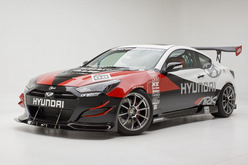 2013 Hyundai Genesis Coupe R-Spec By ARK Gallery 480108