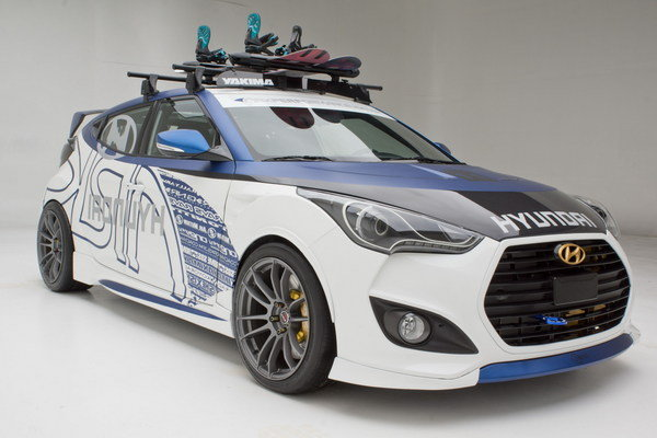 2013 Hyundai Veloster Quot Alpine Quot Concept By Ark Performance