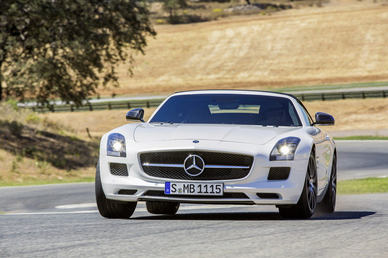 2013 Mercedes-Benz SLS AMG GT High Resolution Exterior - image 478097