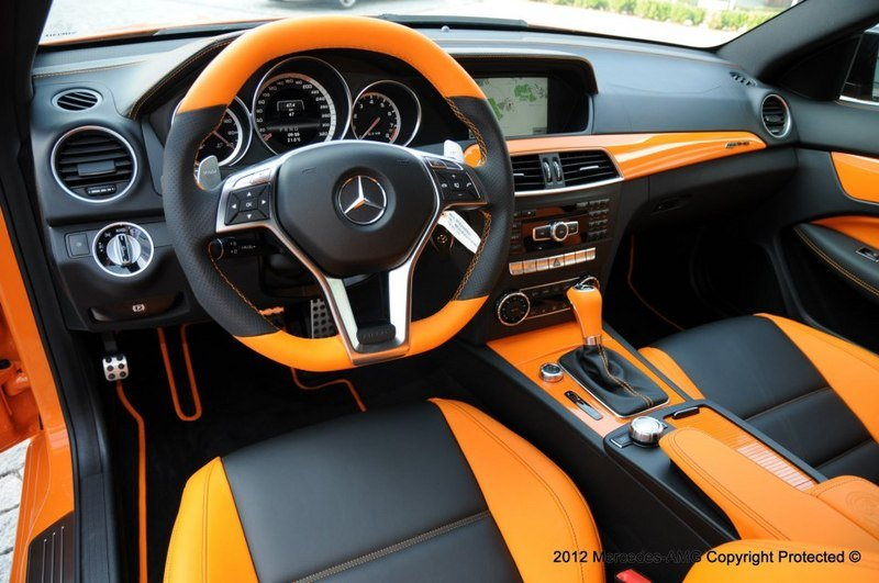 2013 mercedes c63 amg black series halloween edition for Mercedes benz lease specials orange county