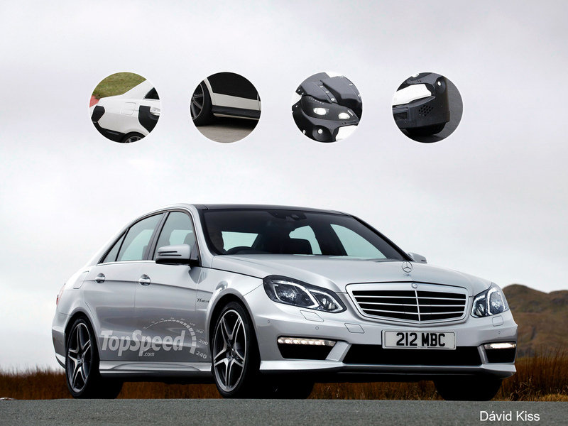 TopSpeed Rendering: 2014 Mercedes E63 AMG