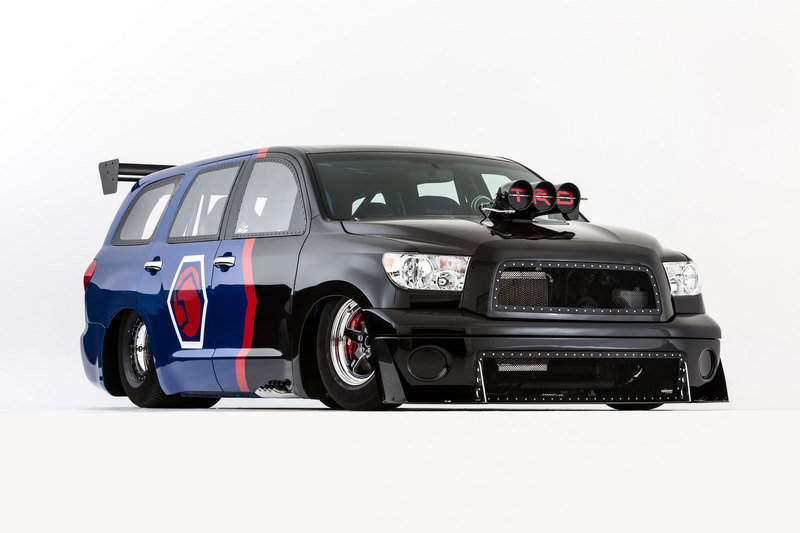 2013 Toyota Sequoia Family Dragster Concept by Antron Brown