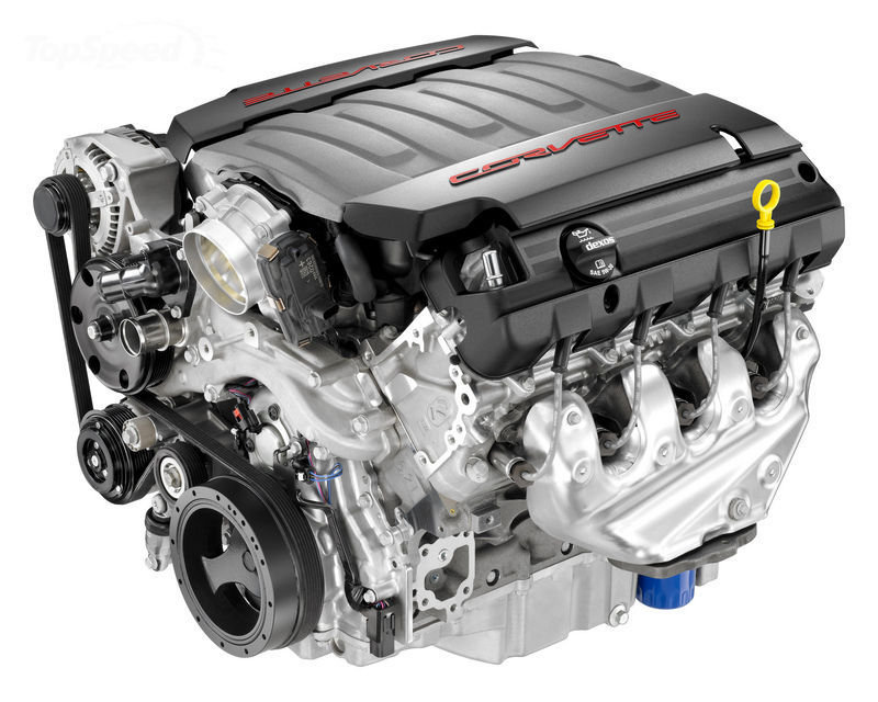 Chevrolet Introduces The All New LT1 V8 Engine For The C7 ...