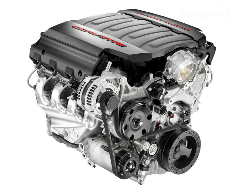 Chevrolet Introduces The All New LT1 V8 Engine For The C7 Corvette