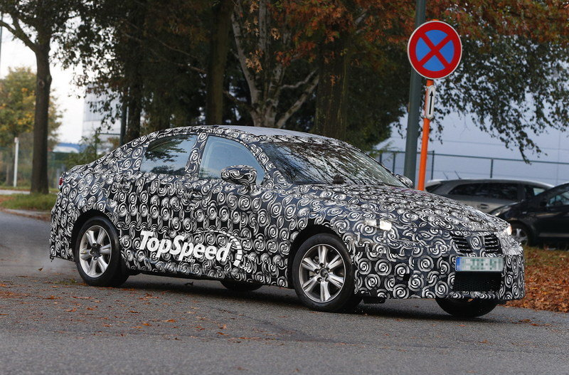 Spy Shots: 2014 Lexus IS Continues Testing