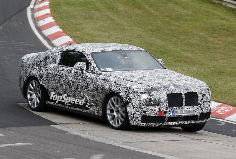 Spy Shots: Rolls Royce Corniche Tests at the Nurburgring