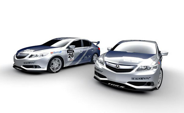 acura ilx race cars picture