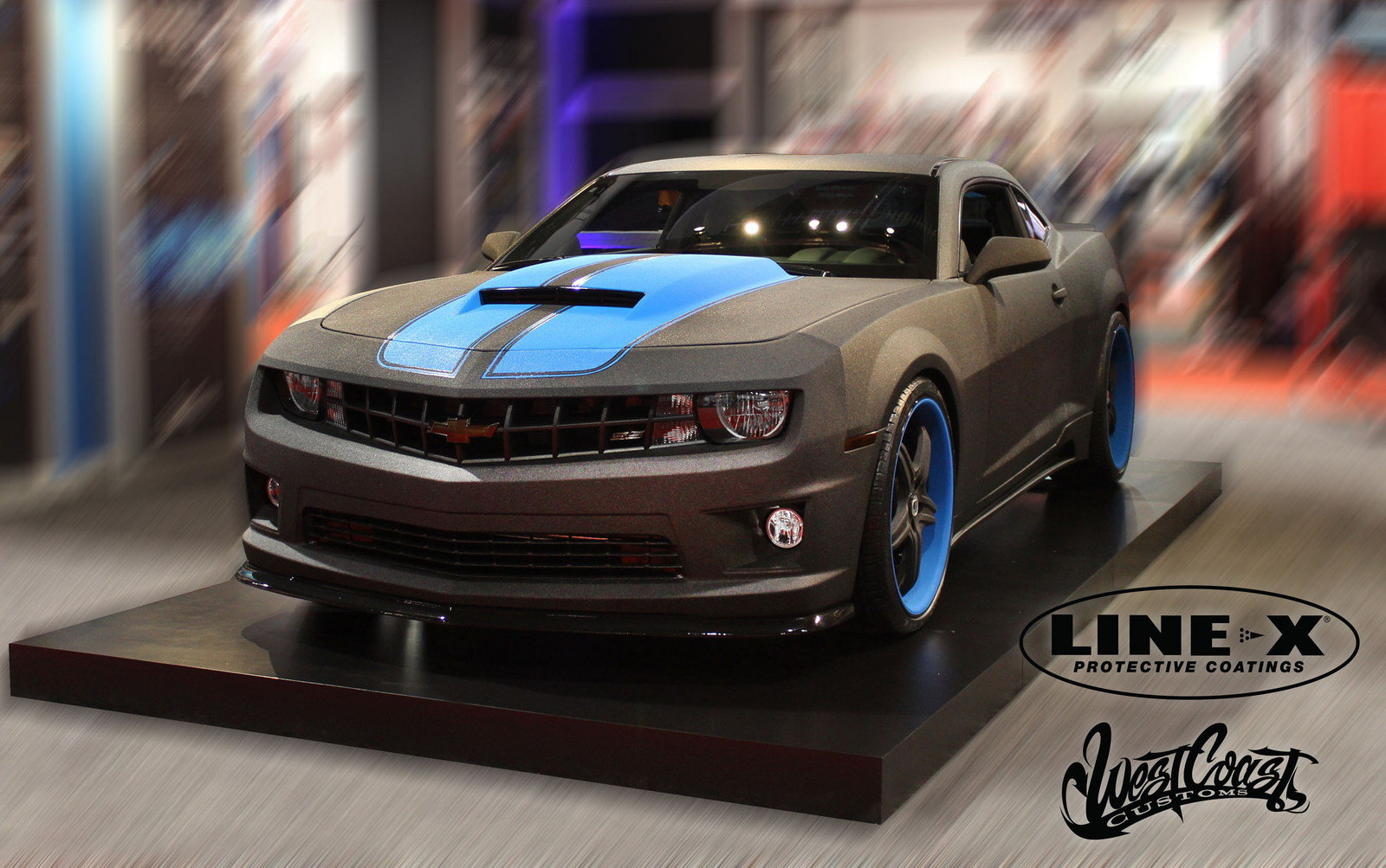 Pebble Beach Car Show >> 2013 Chevrolet Camaro Line-X By West Coast Customs - Picture 480394 | car review @ Top Speed