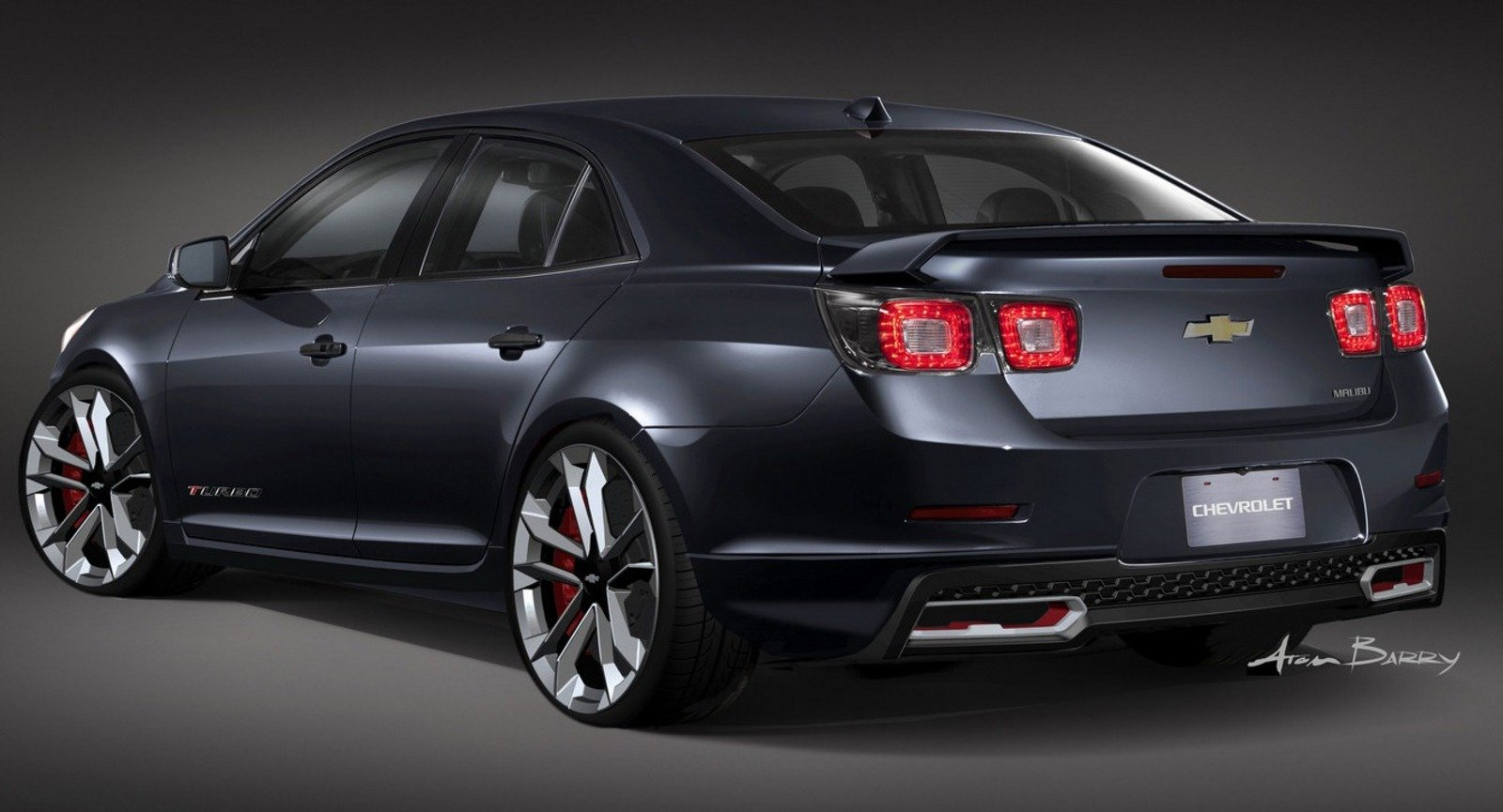 2013 Chevrolet Malibu Turbo Performance Concept Review ...