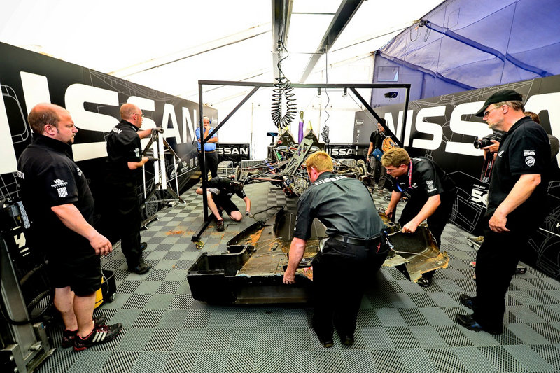 DeltaWing Repaired and Ready for Petit LeMans after Road Atlanta Crash