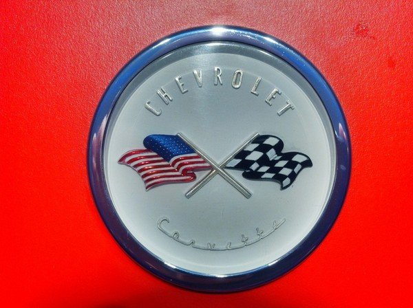 Evolution Of The Corvette And The Crossed Flags Logo   car ...