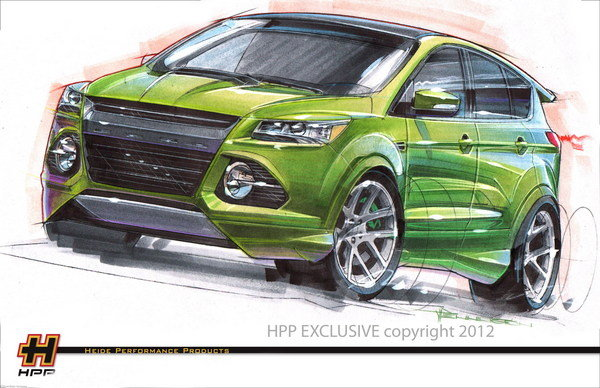 ford escape by heide performance products picture