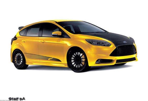 2013 ford focus st by steeda autosports car review top speed. Black Bedroom Furniture Sets. Home Design Ideas