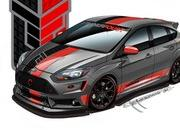 Ford Focus ST by Tanner Foust Racing