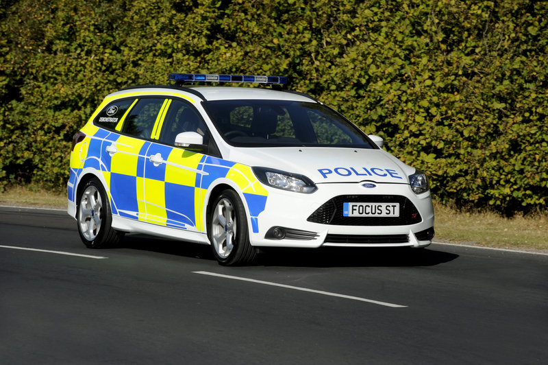 2013 Ford Focus ST Police Patrol Vehicle