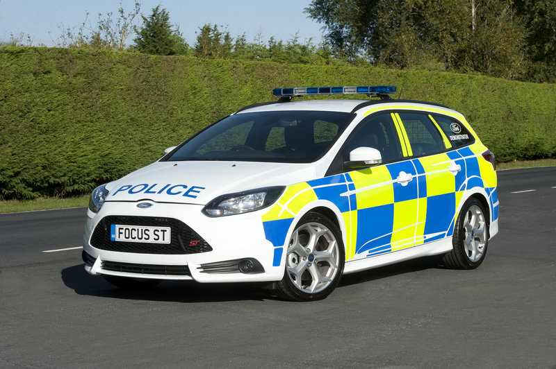 2013 Ford Focus ST Police Patrol Vehicle High Resolution Exterior - image 479056