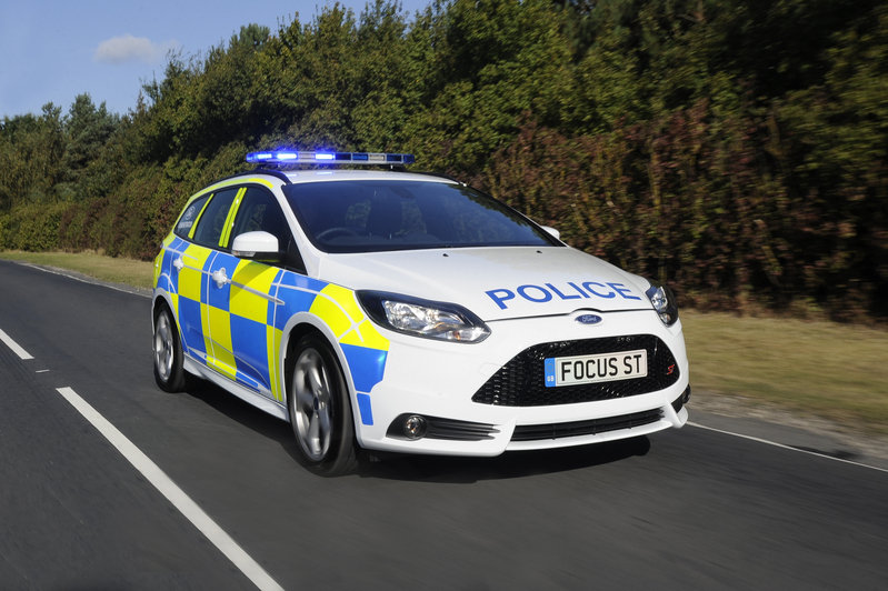 2013 Ford Focus ST Police Patrol Vehicle High Resolution Exterior - image 479057
