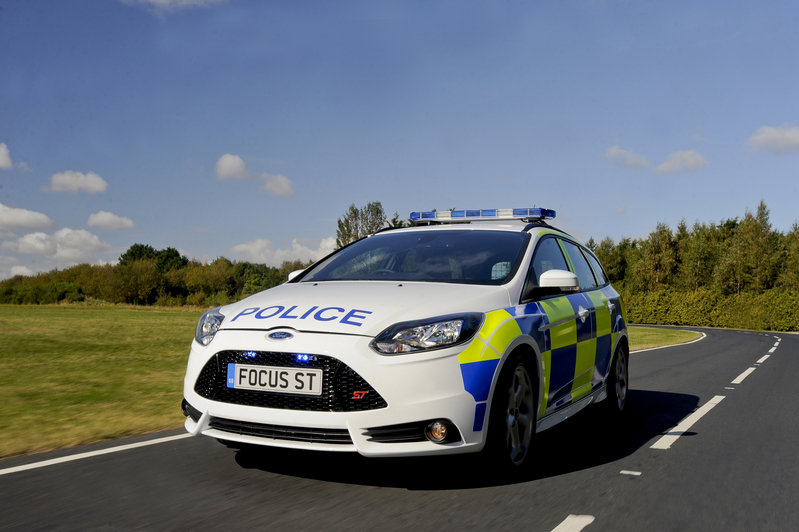 2013 Ford Focus ST Police Patrol Vehicle High Resolution Exterior - image 479059