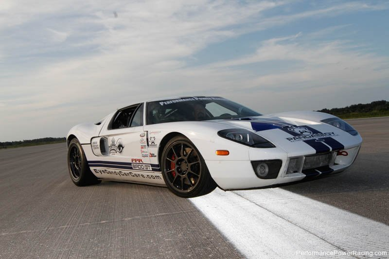 Ford Gt Sets New Standing Mile Record Top Speed